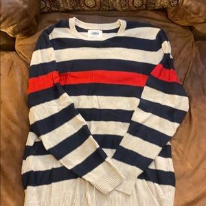 Old navy striped xl sweater